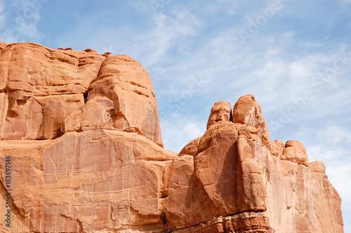 Fotografía  Rock Formations at Arches National Park