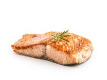 Salmon. Salmon Roast Steak Iso...