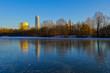 Business-Tower Nürnberg Winter