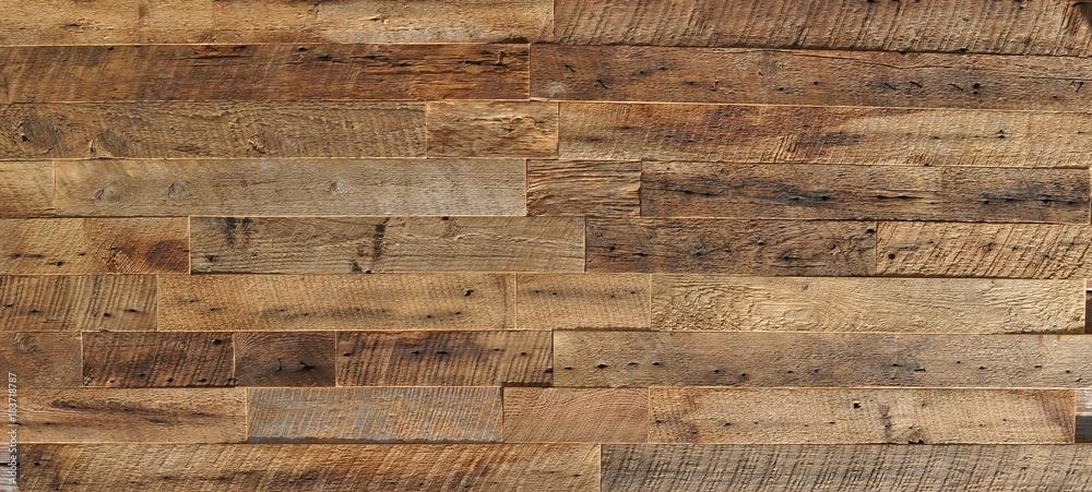 Fototapeta reclaimed wood Wall Paneling texture