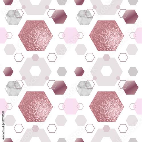 marmurowa-zlota-roza-wzor-geometryczny-plakat-powtorz-tlo-w-modnym-minimalistycznym-stylu-z-kamienia-szesciokata-folii-brokatu-metalicznych-tekstur-ilustracji-wektorowych