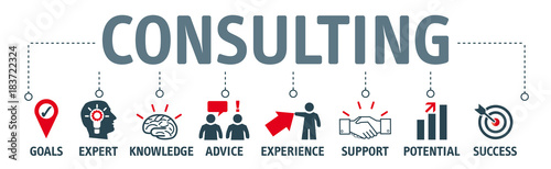 Banner consulting concept