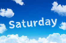 Days Of The Week - Saturday Cl...