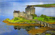 Eilean Donan Castle Of Scotland - Allegedly The Most Photographed Castle In The World