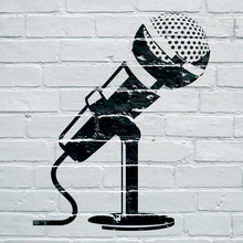 Graffiti, Microphone
