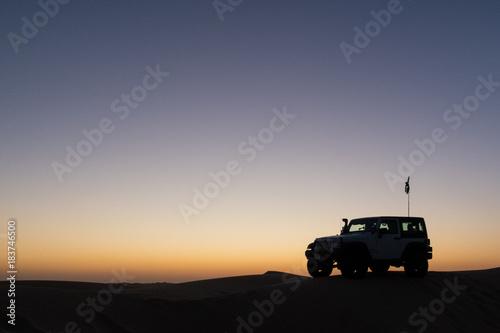Cuadros en Lienzo Sunset in the Desert