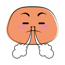 Angry Emoji Face Icon Vector I...