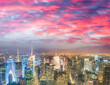 New York night lights
