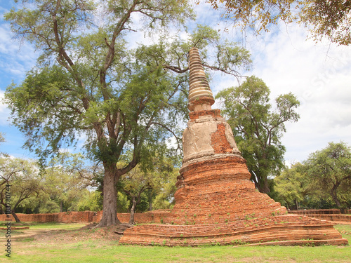 Photo Pagoda in a temple