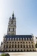 canvas print picture - Belfry of Ghent, bell tower, in Belgium