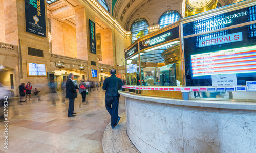 Photo NEW YORK CITY - JUNE 10, 2013: Architecture of Grand Central Main Hall