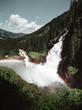 Krimmler Wasserfälle im Nationalpark Hohe Tauern Salzburg Österreich