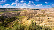 Horse-thief Canyon Near Drumhe...