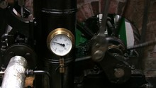 Stationary Steam Engine Pressu...