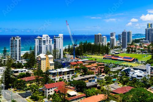 Foto op Aluminium Kuala Lumpur Gold Coast cityscape