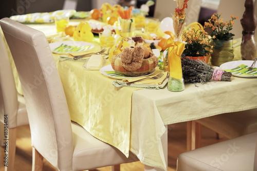 Fototapeta Wielkanoc - Stół wielkanocny obraz