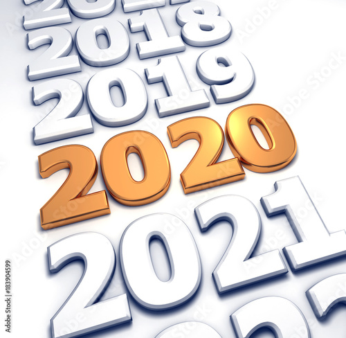 Poster  2020 gold