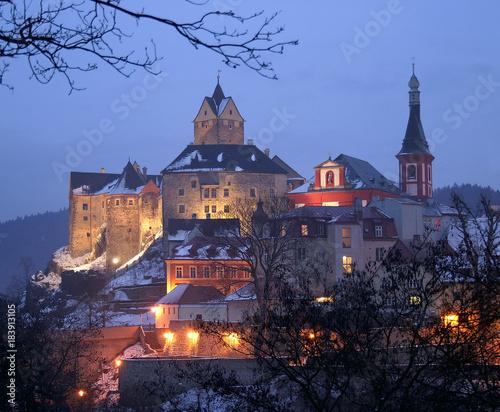Foto op Plexiglas Kasteel Castle Loket, Bohemia