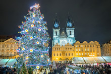 Christmas Tree And Markets In ...