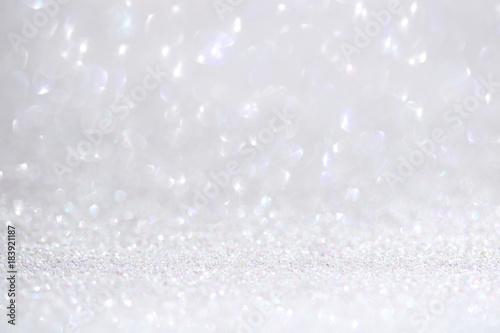 Fotografie, Obraz  ホワイトグリッター クリスマス バレンタイン