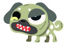 Zombie Pug Dog