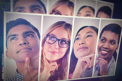 Fotografie, Obraz  People collage portrait
