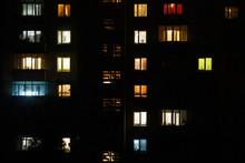 Apartment Building Night