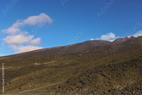 crateri sommitali vulcano Etna 29 Canvas Print