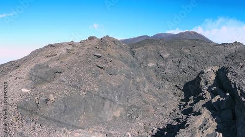 crateri sommitali vulcano Etna 36 Wallpaper Mural