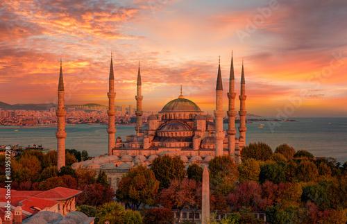 Valokuva The Blue Mosque, (Sultanahmet Camii), Istanbul