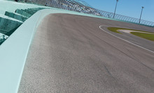 Low View Of Race Track