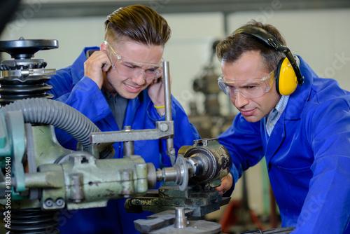 Fotografie, Tablou  solving the machine problem