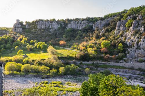 View of Ardeche Gorges #183983137