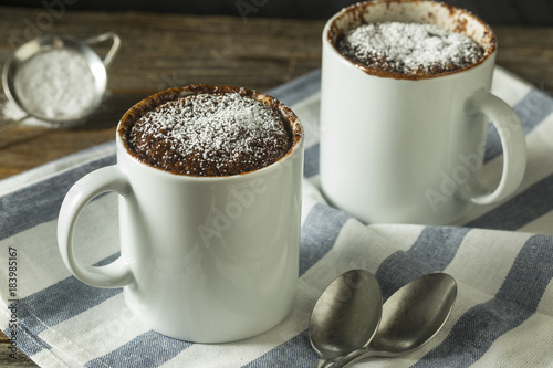 Photo  Homemade Microwave Chocolate Mug Brownies