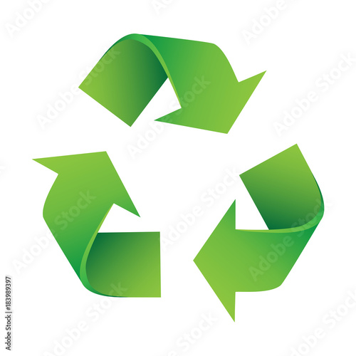 Vector Illustration Of Recycling Symbol Buy This Stock Vector And