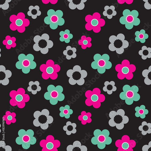 floral pattern - 183996963