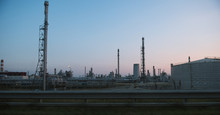View Of Industrial Factory Dur...