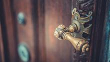 Antique Metal Door Knob
