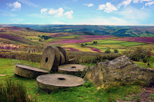 Abandoned Millstones At Stanag...