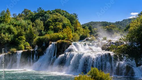 Fotografie, Obraz  Krka Wasserfälle