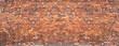 Leinwanddruck Bild - brick wall background, grunge texture brickwork old house