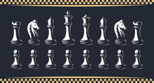 Chess Figure Set - Vector Illu...