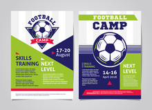 Football, Soccer Camp Posters,...