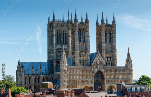 Lincoln Cathedral Fototapeta