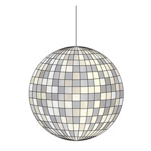Mirrored Disco Ball Vector Cli...