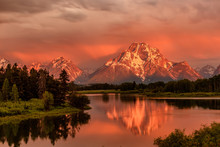 Mountains In Grand Teton Natio...