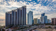 Panorama of Sunny Isles Beach city