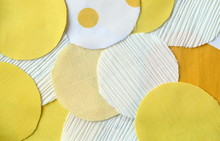 Many Circle Yellow And White R...