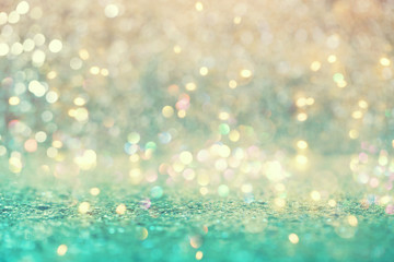 Panel Szklany Na drzwi Beautiful abstract shiny light and glitter background