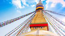 Boudhanath Stupa In Kathmandu ...